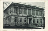 Carnegie Library, Mattoon, Ill.