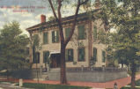 Abraham Lincoln's old home, Springfield, Ill.