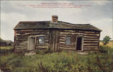 Abraham Lincoln's log cabin