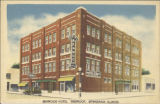 Benwood Hotel, fireproof, Effingham, Illinois