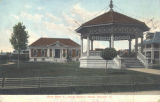 Band stand & library, Soldiers home, Danville, Ill.