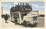 Double deck motor bus, Chicago