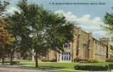 C. M. Bardwell School and Auditorium, Aurora, Illinois