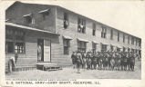 Barracks where Uncle Sam's soldiers live, U. S. National Army, Camp Grant, Rockford, Ill.