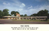 Hub Motel, two blocks west of U.S. 51 on Ill. 152 in town, 423 W. Main St. (Ill. Rt. 152) DuQuoin,...