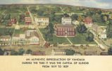 Authentic reproduction of Vandalia during the time it was the capital of Illinois from 1819 to 1839