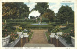 Beautiful sunken garden, Lytle Park, Mattoon, Ill.
