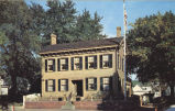 Abraham Lincoln's home, corner Eighth and Jackson, Springfield, Illinois
