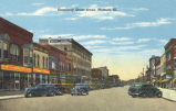 Broadway street scene, Mattoon, Ill.