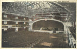 Auditorium and gymnasium, interior, Augustana College, Rock Island, Ill.