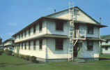 Student airmen barracks, Chanute Air Force Base, Illinois