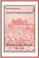 Commencement Program 1981