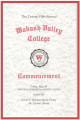 Commencement Program 1987