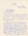 1930-06 draft of letter to General Agent on FJ Bird stationery