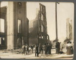 Downtown Bloomington after the June 1900 Fire