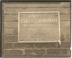 Plaque for Birthplace of Elbert Hubbard