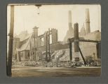 Rubble from the Great Fire of 1900