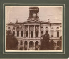 Courthouse After The 1900 Fire