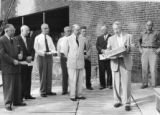 1954 Shaw Dedication