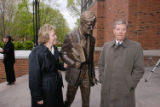 Minor Myers Jr. Statue Unveiling