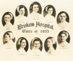 Miss Essig with the Brokaw School of Nursing Class of 1933