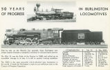 50 Years of progress in Burlington locomotives