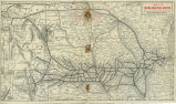 A Map of the Burlington Route, 1902