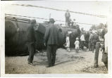 Railroad accident with locomotive