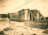 Lockport Lock Under Construction