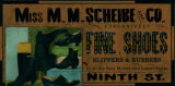 Advertisement - Miss M. M. Scheibe and Co.
