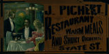 Advertisement - J. Pichert Restaurant
