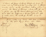 Letter from Charles A. Spring Transferring Claim to Lot 1 in Block 7 on Fractional Section 15...