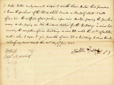 Letter from Porter Fuller Agreeing to the Purchase of the Lot from Lewis Benton. Dated June 21,...