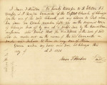 Letter from Isaac T. Hinton Transferring Claim to Lot 4 in Block 56 in the Original Town of...