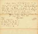 Letter from Philip Roberts Transferring Claim to Lot 4 in Block 53 to George W. Lee. Dated June 23, 1836