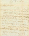 Letter from Patrick Conway, LaSalle, IL, to Joel Manning, Secretary to the Canal Board. Dated...
