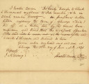 Letter from Erastus Bowen Transferring his Claim to Lots 7 & 8 in Block 20 on Fractional...