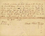 Letter from Horatio G. Loomis Transferring Claim to Lot 5 in Block 8 to the Trustees of First...