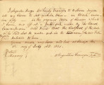 Letter from Augustus Pennoyer Transferring his Claim to Lot 4 in Block 50  in the Original Town of...