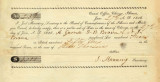 Certificate No. 239 from Joel Manning Certifying the Sale of Lot 5 in Block 51 in the Original...