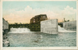 Water Flowing Through Butterfly Dam Drainage Canal, Lockport (Ill.) Distant View (1)