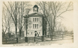 The Old School House, Lockport, Ill., Burned in 1895
