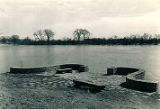 CCC dock on Illinois River at McKinley Woods