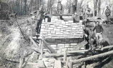CCC Workers Building a Bridge, Camp 2601, Starved Rock State Park