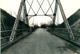 West Approach to Romeo Swing Bridge over Sanitary District Canal