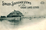 Envelope featuring Singer Souvenir Views of the Great Lake Cities