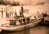 """City of Pekin"" on Illinois River"