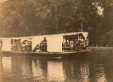 Excursion boat filled with picnickers