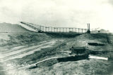 Sanitary and Ship Canal, incline conveyor for moving dirt