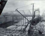 Sanitary and Ship Canal, construction